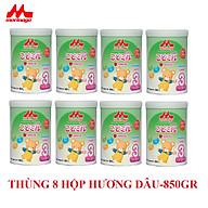 Thùng 8 hộp sữa Morinaga số 3 Koddomil 850gr- hương dâu (tách đai) thumbnail
