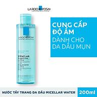 Nước Tẩy Trang Làm Sạch Sâu Và Kiểm Soát Bã Nhờn Cho Da Dầu Và Da Mụn La Roche Posay Effaclar Micellar Water 200ml thumbnail