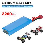 for WLtoys XKS 144001 1 14 RC Car Battery 7.4V 2200mAh Lithium Battery for Racing Car RC Crawler thumbnail