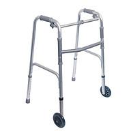 Khung Tâp Đi Cho Người Già,Người Bệnh, có bánh xe, Hoặc ghế ngồi,nạng nhôm thumbnail