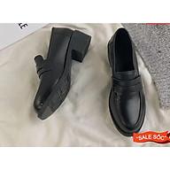 Giày CAO 4cm quảng châu da mền( form bé nên tăng 1 size ) thumbnail