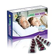 Thực Phẩm Bảo Vệ Sức Khỏe Dành Cho Người Lớn Laso Ngủ Ngon-Nâng Niu Giấc Ngủ Vàng thumbnail