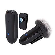 Micro Thu Âm Wireless LENSGO LWM-318C Đen ( 1 Phát + 1 Thu ) - Hàng Chính Hãng thumbnail