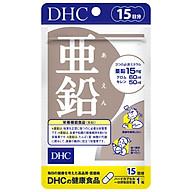 Viên uống bổ sung kẽm DHC Zinc - Hỗ trợ ức chế quá trình tiết bã nhờn và sừng hoá nang lông, cải thiện tình trạng da mụn, giúp duy trì làn da mịn màng và cải thiện tình trạng rụng tóc, tóc xơ cứng thumbnail