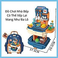 Đồ Chơi Nhà Bếp Nấu Ăn Cho Bé Nhập Vai Làm Bếp Bowa 8787P- Kitchen Set School Bag Role thumbnail