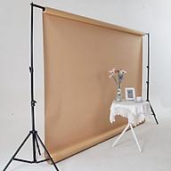 Khung giá treo phông nền chữ U chụp ảnh, quay video lookbook, ảnh cưới, livestream kích thước 2 2m, kèm Phông nền thumbnail