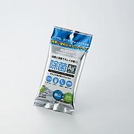 Khăn ướt vệ sinh và khử trùng thiết bị 15 miếng ELECOM WC-AG15P- Hàng nhập khẩu thumbnail