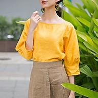 Áo nữ mí tay áo Yellow thumbnail