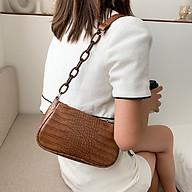 Túi kẹp nách nữ thời trang, chất liệu da trơn bền đẹp TK0071 thumbnail