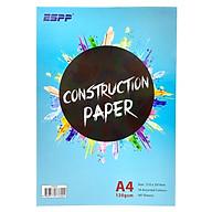 Giấy Bìa Màu ESPP A4 40 Tờ 10 Màu CPA440 thumbnail