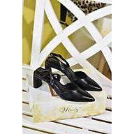 Giày sandal gót thô Merly 1343 thumbnail