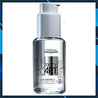 Tinh dầu L oreal Tecni art. Liss Control + Intense Smoothing Serum Force 1 bóng mượt và chống rối 50ml thumbnail