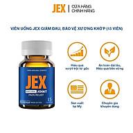 Viên uống JEX giảm đau, bảo vệ xương khớp với Eggshell Membrane, Collagen Peptide, Collagen Type II không biến tính (15 viên) thumbnail