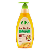 Dầu Tắm Ôliv Natural Nourish Virgin Olive Oil (650ml) thumbnail