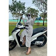 Váy Chống Nắng Nữ Toàn Thân, Áo Khoác Che Nắng Che Bụi mẫu NT118 thumbnail