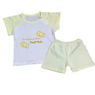 Bộ quần áo cộc tay cotton pampi thumbnail