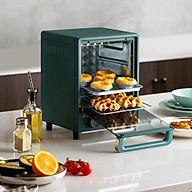 Lò nướng cao cấp 12 lít công suất 800w 2 tầng nướng giúp tối ưu không gian thumbnail