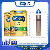 Combo 2 Lon Sữa Bột Enfagrow A+ 4 1.7kg - Tặng Phích Giữ Nhiệt Elmich Inox 500ml thumbnail