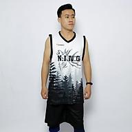 Quần áo bóng rổ Vinasport Forest White thumbnail