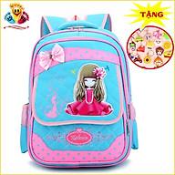 Balo đi học cho bé gái, cặp sách cao cấp in hình công chúa siêu xinh E392 thumbnail