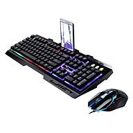 Bàn Phím và chuột Backlight HN G7.00 LED đa màu độc đáo chuyên game cho phòng net - Hàng nhập khẩu thumbnail