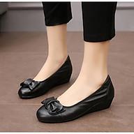 Giày búp bê da nơ xinh 5f thumbnail
