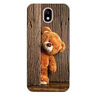 Ốp lưng dẻo cho Samsung Galaxy J7 Pro _Teddy thumbnail