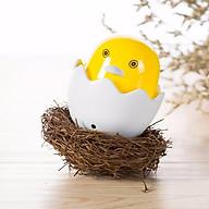 Đèn Ngủ Cảm Ứng Ánh Sáng Hình Con Gà Vỏ Trứng - Hàng nhập khẩu thumbnail