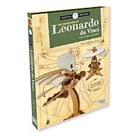 Bộ xếp hình DIY mô hình CHIẾC MÁY BAY chính hãng SASSI 3D PUZZLE LEONARDO DA VINCI THE FLYING MACHINES thumbnail