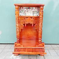 Bàn thờ gỗ Xoan Đào ngang 48 Màu đỏ thumbnail