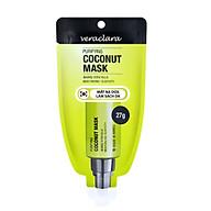 Mặt Nạ Dừa Làm Sạch Da ( Veraclara Purifying Coconut Mask) 27g thumbnail