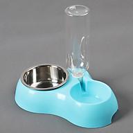 Bát ăn kết hợp với uống nước tự động cho mèo và cún cưng thumbnail