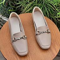 Giày nữ da thật cao cấp nữ thời trang 21202 thumbnail