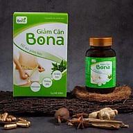 Thực phẩm bảo vệ sức khỏe hỗ trợ giảm cân Bona (60 viên hộp) - Hỗ trợ giảm cân, giảm thèm ăn thumbnail
