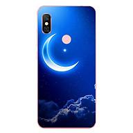 Ốp Lưng Dẻo Cho Điện Thoại Xiaomi Redmi Note 6 Pro - Moon 01 thumbnail