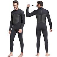 Quần áo lặn biển 3mm NAM - BLACK 1070, bộ đồ lặn thoáng khí, chống thấm nước - POKI thumbnail