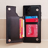 Bao da dành cho Galaxy Note 10 kiêm ví đựng tiền, thẻ, card siêu tiện lợi thumbnail