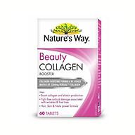 Viên uống đẹp da bổ sung collagen Nature s Way Collagen Booster chính hãng ÚC 60 viên thumbnail