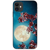 Ốp lưng da nh cho Iphone 12 Mini mẫu Trăng Hoa thumbnail