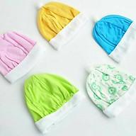 Set 10 Mũ Cotton Mỏng Cho Bé - Giao Màu Ngẫu Nhiên thumbnail