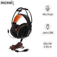 Tai nghe chụp tai Gaming MozardX DS904 7.1 Đen - Hàng Chính Hãng thumbnail