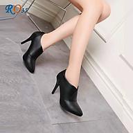 Boot thời trang nữ cao cấp ROSATA RO35 7p gót nhọn - HÀNG VIỆT NAM - BKSTORE thumbnail