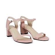 Juno - Giày sandal gót vuông quai ngang SD05038 thumbnail