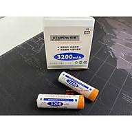 Vỉ 2 viên Pin hoặc 4 viên pin sạc cao cấp AA 1.2V dung lượng cao 3200mAh KTMPOW dùng cho Camera và Micro thumbnail