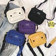 Túi đeo chéo Thời Trang Nữ Vải Bố Canvas Cao Cấp Có Khóa Kéo thời trang King168 mã T06 thumbnail