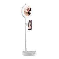 Gương trang điểm có đèn Led Livestream G3 tích hợp giá đỡ và kẹp điện thoại cao cấp thumbnail