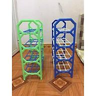 Kệ Giày Dép 4 Tầng Bằng Nhựa Màu Ngẫu Nhiên thumbnail