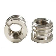 Bộ 2 ốc chuyển đổi từ 1 4 gắn kết đến 3 8 inch đa năng ama19 thumbnail