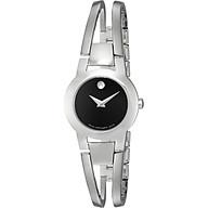 Movado Women s 604759 Amorosa Stainless Steel Bangle Watch thumbnail