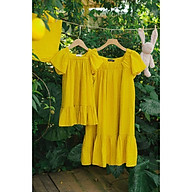 Váy đôi Mẹ và Bé - Amy Set - Vàng thumbnail